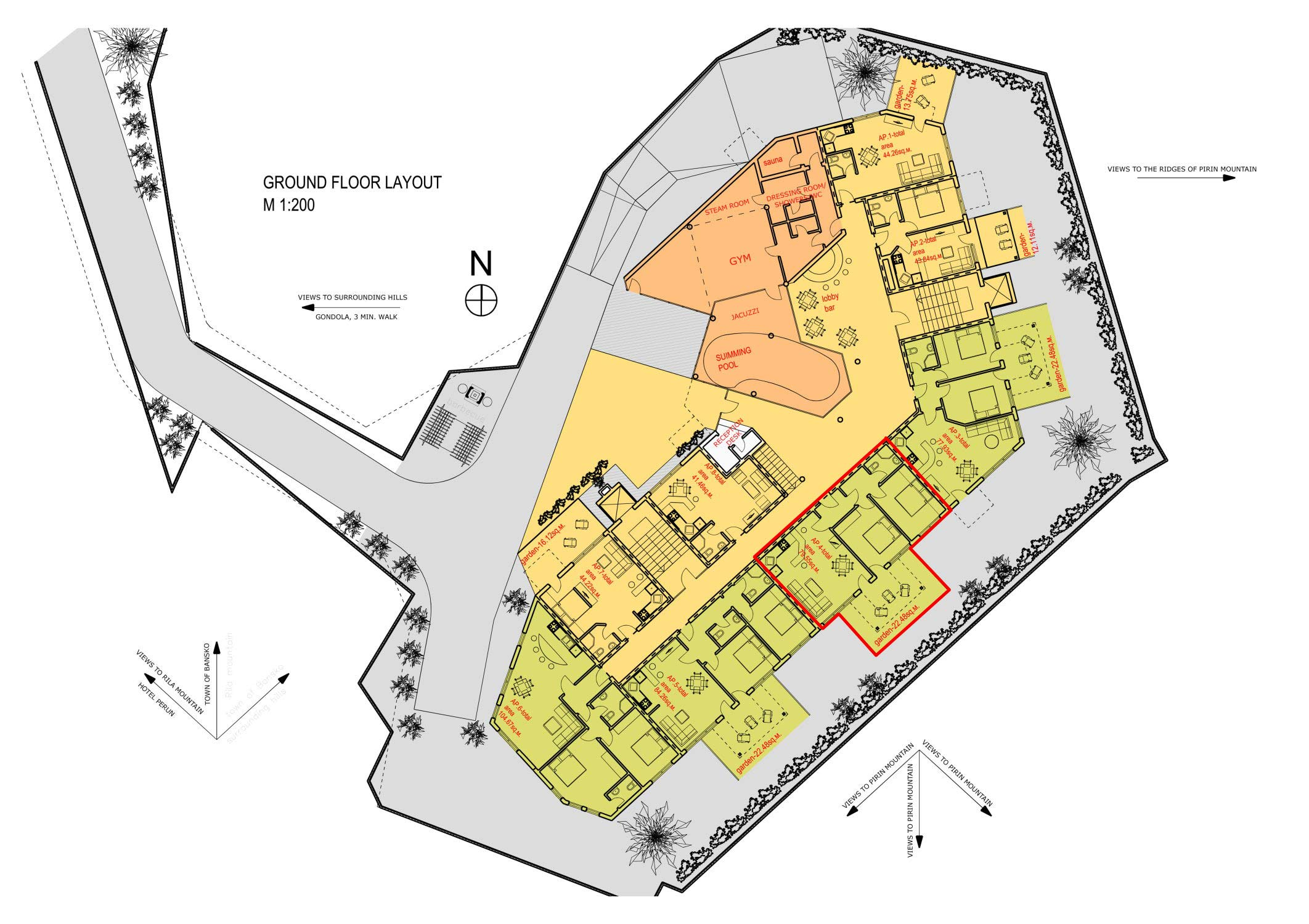Grand Montana Ground floor plan