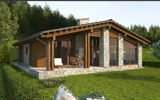 -Brand new 2 bed chalet to be built