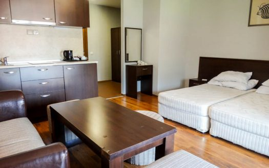 -Furnished studio on Casa Karina